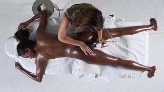 Valerie revives sensual massage