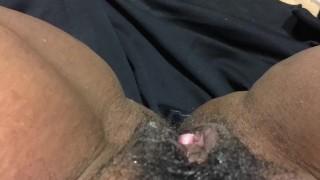Eating my co-workers juicy pussy in Mcdonlads bathroom